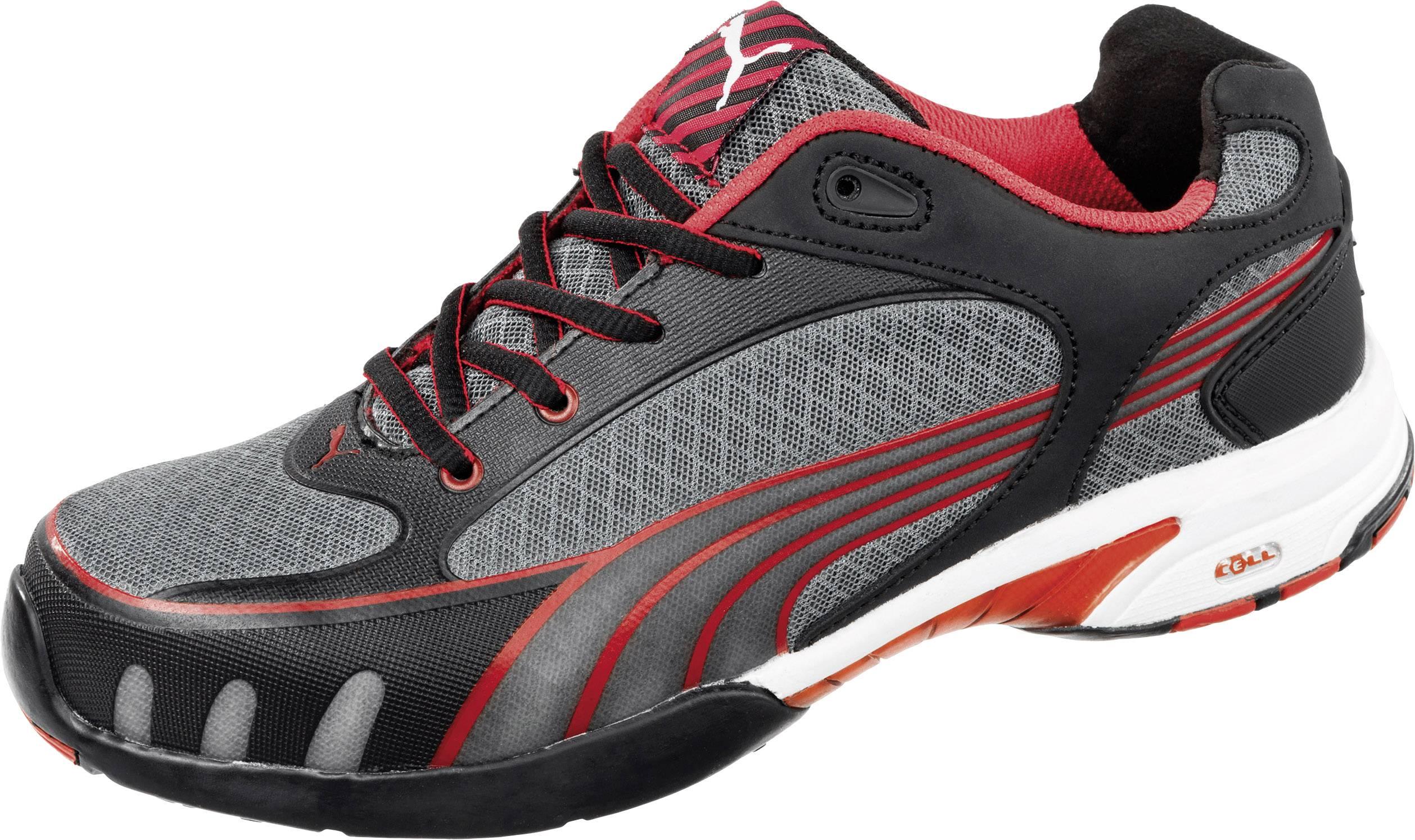 PUMA Safety Fuse Motion Red Wns Low 642870 Sikkerhedssko S1 Størrelse: 36 Sort, Rød 1 pair