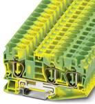 ST 10-TWIN-PE - beskyttelsesleder klemrække