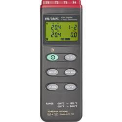 Teplomer VOLTCRAFT -200 - +1370 °C, Typ senzora K, Kalibrované podľa: ISO