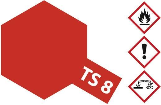 Tamiya Acrylfarbe Italien-Rot TS 8 Spraydose 100 ml