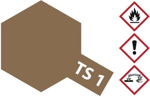 Tamiya Acrylfarbe Rot-Braun TS-1 Spraydose 100 ml