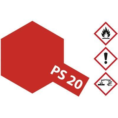 Tamiya Lexanfarbe Neon-Rot PS-20 Spraydose 100 ml Preisvergleich