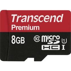 Pamäťová karta micro SDHC, 8 GB, Transcend Premium, Class 10, UHS-I