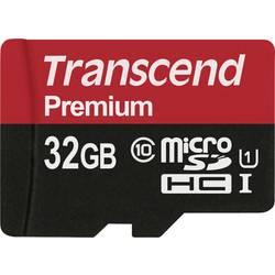 Pamäťová karta micro SDHC, 32 GB, Transcend Premium, Class 10, UHS-I