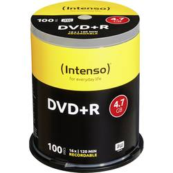 Image of Intenso 4111156 DVD+R Rohling 4.7 GB 100 St. Spindel