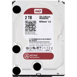 "Interný pevný disk 8,9 cm (3,5 "") Western Digital Red™ WD20EFRX, 2 TB, Bulk, SATA III"