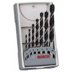 Sada špirálových vrtákov do dreva Bosch Accessories 2607017034, 3 mm, 4 mm, 5 mm, 6 mm, 7 mm, 8 mm, 10 mm, 1 sada
