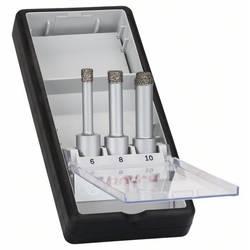 Sada diamantových vrtákov na vŕtanie nasucho Bosch 2608587145, 3 ks