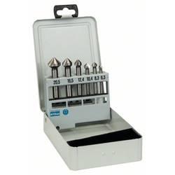 Sada kužeľových záhlbníkov 6-dielna HSS Bosch Accessories 2608597527, valcová stopka, 6.3 mm, 8.3 mm, 10.4 mm, 12.4 mm, 16.5 mm, 20.5 mm, 1 sada