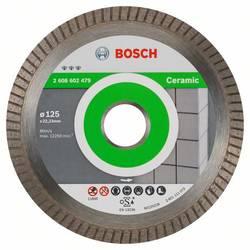 Diamond cutting disc Best for Ceramic Extraclean Turbo 125 x 22,23 x 1,4 x 7 mm Bosch Accessories 2608602479, Priemer 125 mm, 1 ks