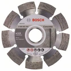 Diamond cutting disc Expert for Concrete 115 x 22,23 x 2,2 x 12 mm Bosch Accessories 2608602555, Priemer 115 mm, 1 ks