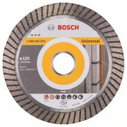 Diamond cutting disc Best for Universal Turbo 125 x 22,23 x 2,2 x 12 mm Bosch Accessories 2608602672, Priemer 125 mm, 1 ks