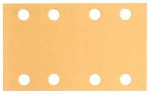 Pack 5 St Klett,gelocht Körnung 80 Bosch Exzenterschleifpapier Ø150mm