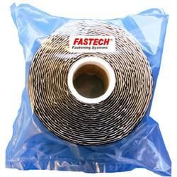 Zalepenie hotmelt pásik so suchým zipsom FASTECH® T0502599990305, (d x š) 5000 mm x 25 mm, čierna, 1 ks