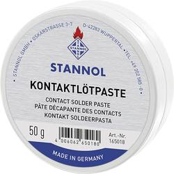 Kontaktní pájecí pasta Stannol 165018, 50 g