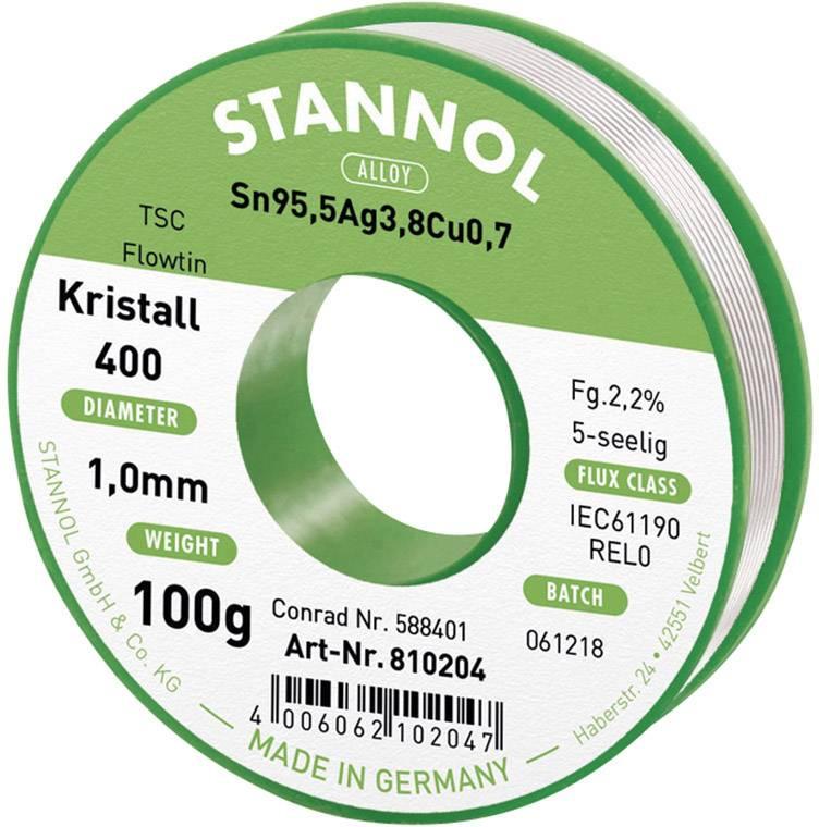 Lötzinn 250 Gramm ø1,0mm S-Sn99Cu1//TC Ecoloy Lötdraht bleifrei von Stannol