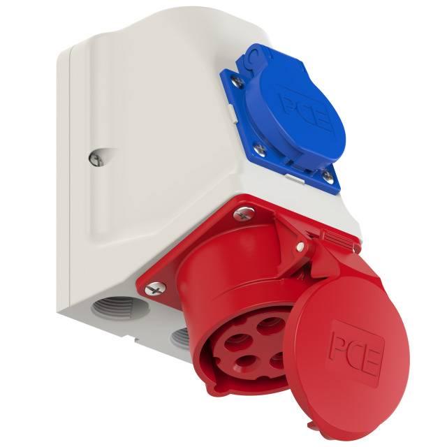 PCE CEE STECKER 16/A 5-polig 400/V 9215/ /6