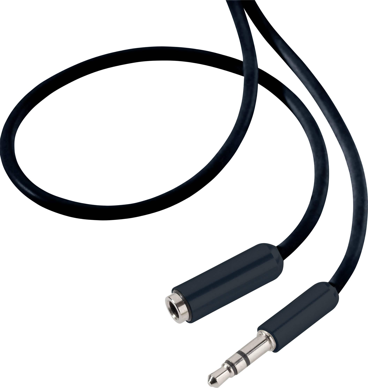 3,5 mm Klinke Buchse an Stecker-Kopfhörer-Stereo-Audio-Verlängerungskabel ZP
