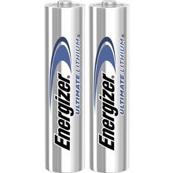 Mikrotužková baterie AAA Energizer Ultimate FR03, 1250 mAh, 1.5 V, 2 ks