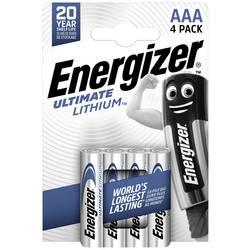 Energizer Lithium, sada 3 + 1 zdarma, AAA, 1,5 V