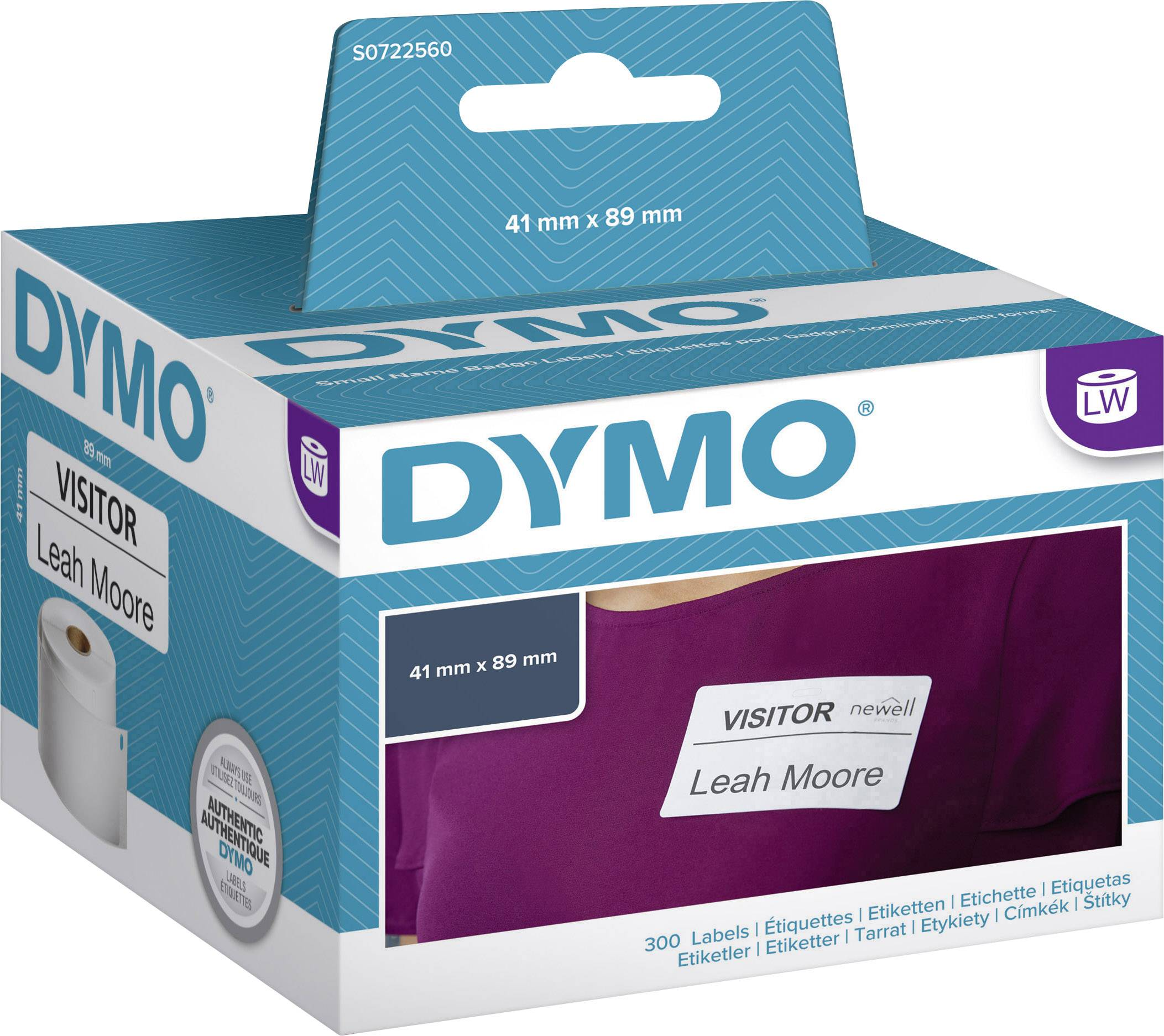 zu Dymo 11356 41 x 89 mm 300 Label Etiketten pro Rolle 1x Label kompat