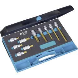"""Sada nástavcov pre nástrčný kľúč, štvorzub (XZN) Hazet 990/10, 1/2"""" (12.5 mm), Speciální ocel , 10-dielna"""