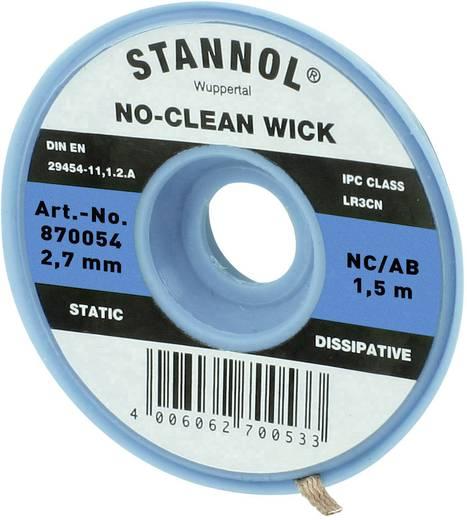 Entlötlitze Stannol NC/BB Länge 1.5 m Breite 2.7 mm