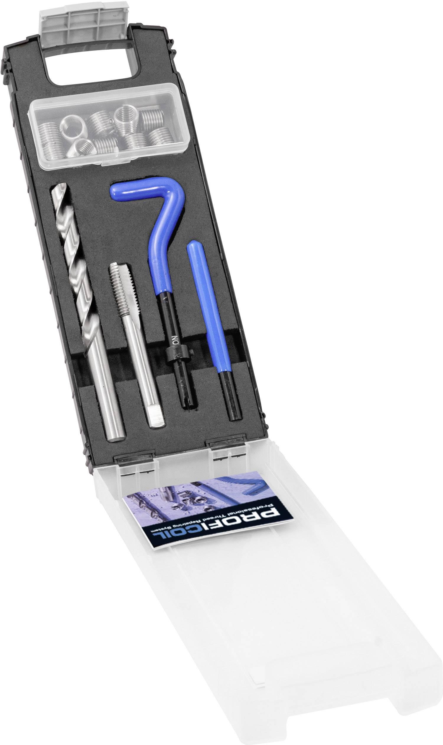 Gewindeeinsatzsatz M6 Edelstahl-Gewindeeinsatz-Kombinationswerkzeugsatz Gewindereparatursatz