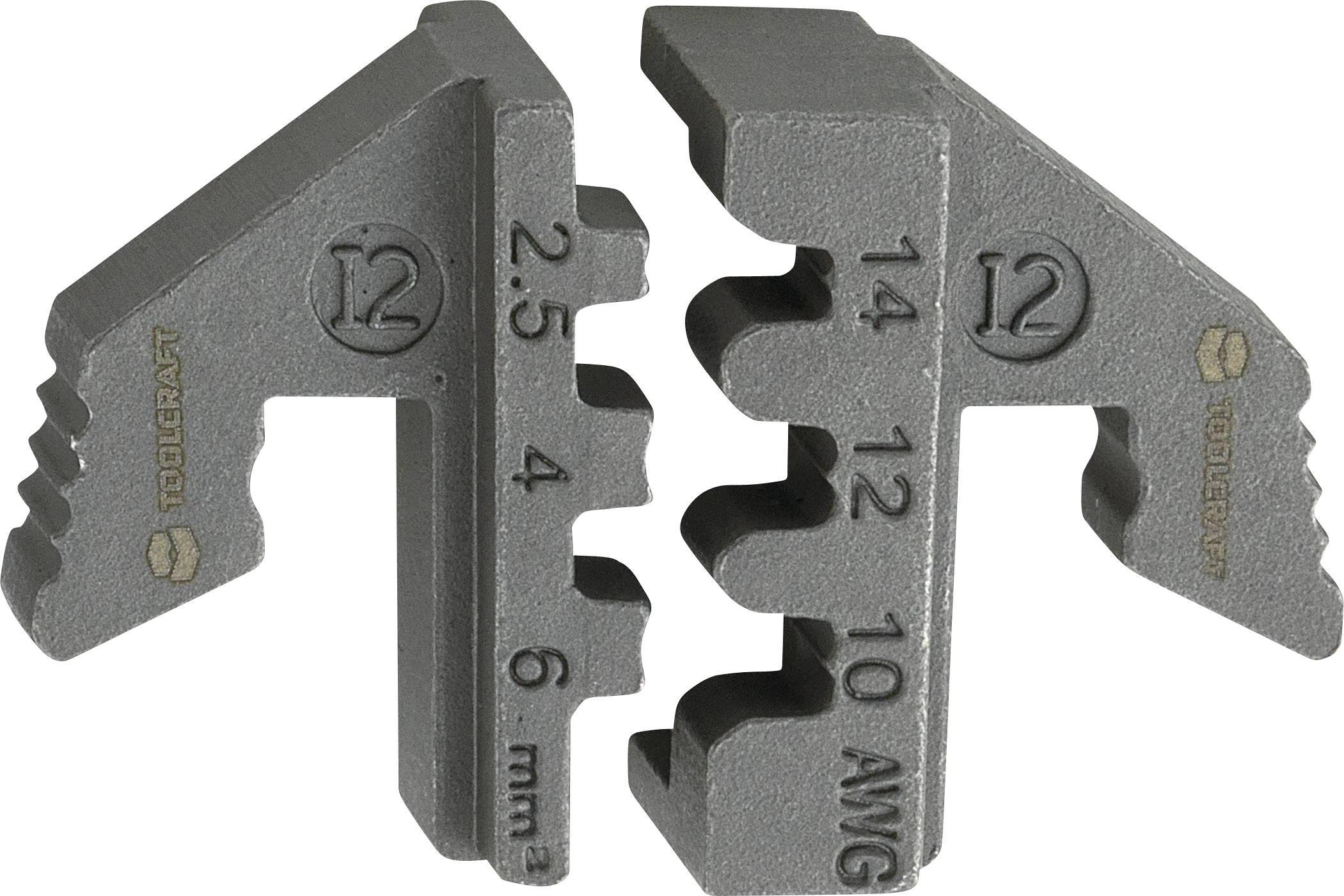 TOOLCRAFT Crimpeinsatz Flachstecker 0.1 bis 1mm² 1423390 Passend für Marke TOOLC