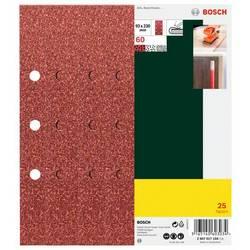 Brúsny papier Bosch Accessories 2607017104 s otvormi, Zrnitosť 60, (d x š) 230 mm x 93 mm, 25 ks