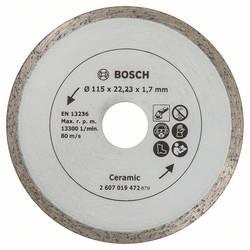 Diamantový rezací kotúč na dlaždice, priemer: 115 mm Bosch Accessories 2607019472, Priemer 115 mm, 1 ks