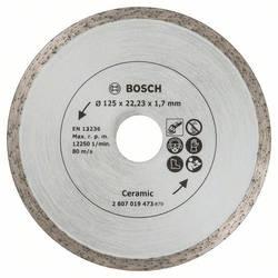 Diamantový rezací kotúč na dlaždice, priemer: 125 mm Bosch Accessories 2607019473, 1 ks