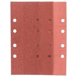 Sada brúsneho papiera Bosch Accessories 2607019499 s otvormi, Zrnitosť 60, 80, 120, 240, (d x š) 230 mm x 93 mm, 1 sada