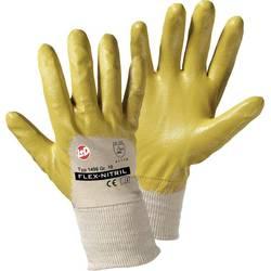 Pracovní rukavice L+D worky Flex Nitril 1496, Nitrilkaučuk sbavlnou, velikost rukavic: 7, S