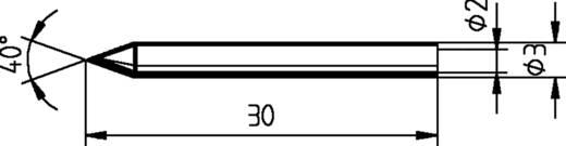Ersa 012 BD Lötspitze Bleistiftform Spitzen-Größe 0.3 mm Inhalt 1 St.