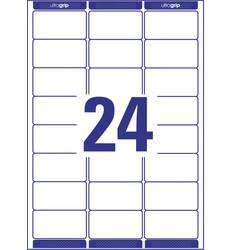 Image of Avery-Zweckform L7159-100 Etiketten 63.5 x 33.9 mm Papier Weiß 2400 St. Permanent Adress-Etiketten, Universal-Etiketten