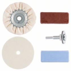 Hobby leštiaca sada, 5 kusov, na vŕtačky Bosch Accessories 2609256555 5 ks