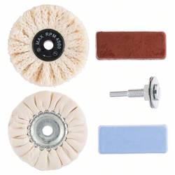 Profesionálna leštiaca sada, 5 kusov, na vŕtačky Bosch Accessories 2609256556 5 ks