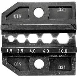 Krimpovacie kliešte neizolované dotykové spojky Rennsteig Werkzeuge PEW12.31 624 031 3, 1.5 do 10 mm²