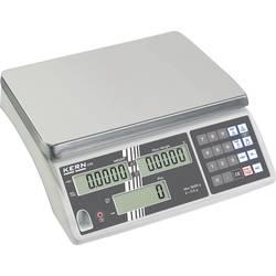 Počítací váha Kern CXB 15K1 15 kg, rozlišení 1 g, stříbrná, kalibrace dle ISO