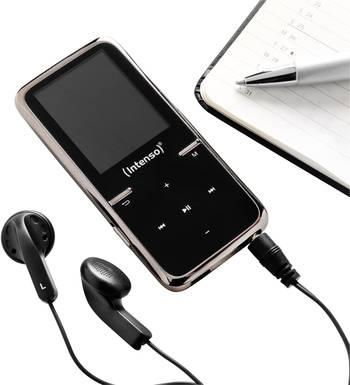 MP3 Player von Intenso mit microSD Karte