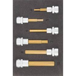 """Súprava nástrčných kľúčov a bitov, inbus Hazet 163-302/6, 3/8"""" (10 mm), Speciální ocel , 6-dielna"""