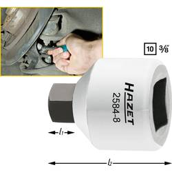"""Vložka zástrčného kľúča pre strmeň brzdy, inbus Hazet 2584-8, 3/8"""" (10 mm), 8 mm"""