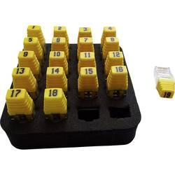 Sada 19 ks diaľkových identifikátorov RJ45 Softing RK200 =19xRJ45 Remote, Identifier Set (1-19)