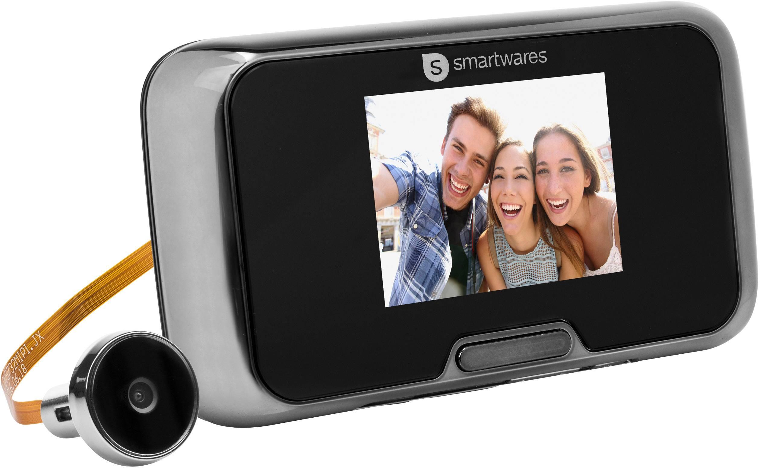 Beliebt Smartwares VD27 10.018.27 Digitaler Türspion mit LCD-Display 7.1 XQ72