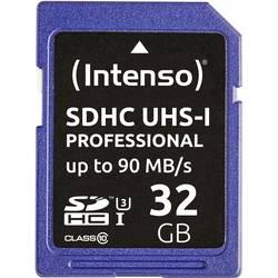 Pamäťová karta SDHC, 32 GB, Intenso Professional, Class 10, UHS-I