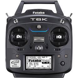 Ručné diaľkové ovládanie Futaba T6K V2, 2,4 GHz, Kanálov 8, vr. prijímača