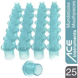 Náustky pre alkoholtester ACE, modrá, 25 ks