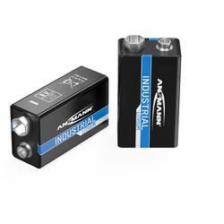9 V batéria Ansmann Lithium Industrial 6LR61, lítiová, 1200 mAh, 9 V, 5 ks