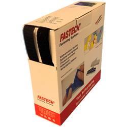 Na našitie pásik so suchým zipsom FASTECH® B20-MIX999910, (d x š) 10 m x 20 mm, čierna, 10 m